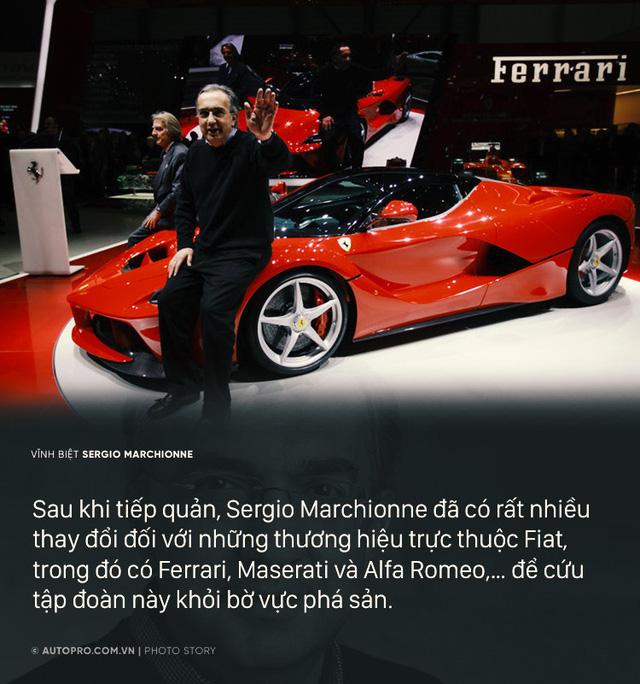 Sergio Marchionne - Cuộc đời từ nhân viên kế toán tới Giám đốc điều hành Ferrari - Ảnh 5.