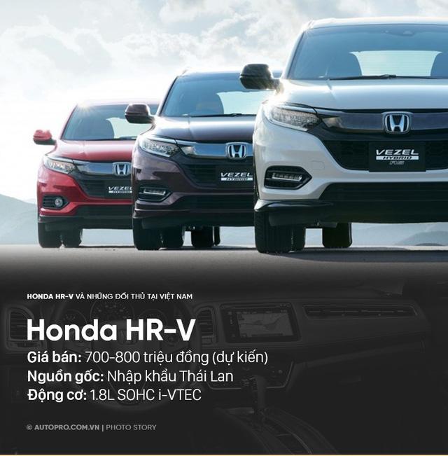 Honda HR-V sẽ phải cạnh tranh với những xe nào tại Việt Nam? - Ảnh 7.