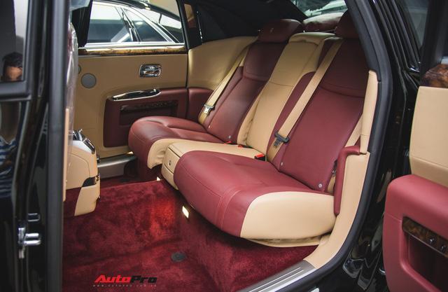 Rolls-Royce Ghost Series II EWB phối hai màu độc nhất Việt Nam - Ảnh 7.