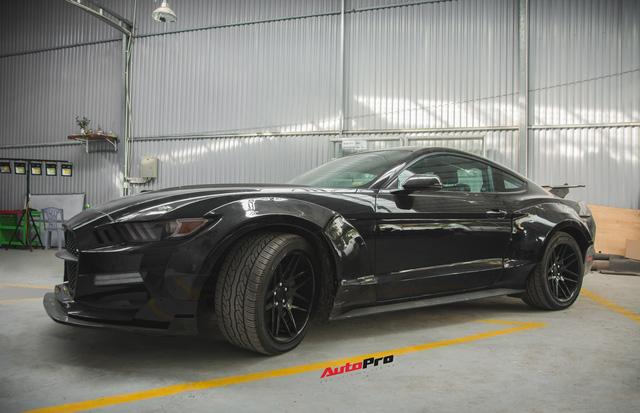 Ngựa hoang Ford Mustang lột xác, độ widebody của đại gia Hà Nội - Ảnh 4.