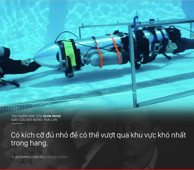 [Photo Story] Có gì đặc biệt trong tàu ngầm mini Tesla mang tới giải cứu các cầu thủ Thái Lan - Ảnh 3.