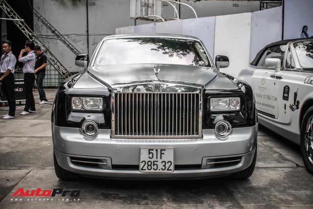 Rolls-Royce Phantom EWB bí ẩn của ông chủ cà phê Trung Nguyên xuất hiện tại Sài Gòn - Ảnh 3.