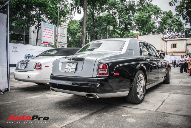 Rolls-Royce Phantom EWB bí ẩn của ông chủ cà phê Trung Nguyên xuất hiện tại Sài Gòn - Ảnh 4.