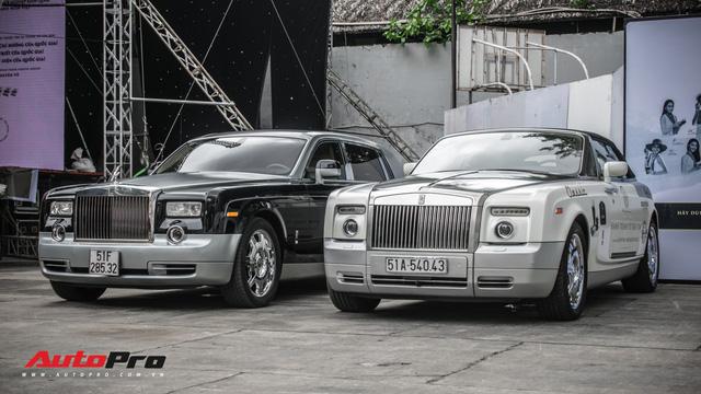 Rolls-Royce Phantom EWB bí ẩn của ông chủ cà phê Trung Nguyên xuất hiện tại Sài Gòn - Ảnh 9.