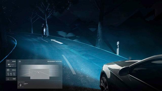 Mercedes-Benz tiếp tục khoe Digital Light - Đèn pha trình diễn ánh sáng của tương lai - Ảnh 4.