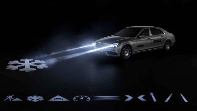 Mercedes-Benz tiếp tục khoe Digital Light - Đèn pha trình diễn ánh sáng của tương lai - Ảnh 1.