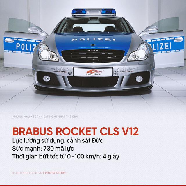 Những siêu xe ngành ngầu nhất của cảnh sát thế giới - Ảnh 4.