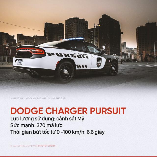 Những siêu xe ngành ngầu nhất của cảnh sát thế giới - Ảnh 5.