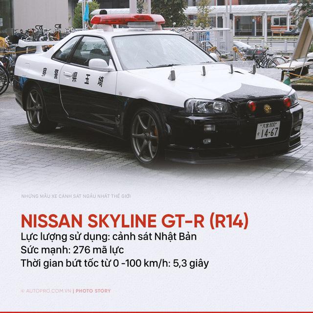 Những siêu xe ngành ngầu nhất của cảnh sát thế giới - Ảnh 6.