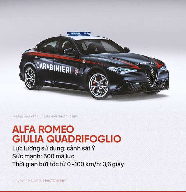 Những siêu xe ngành ngầu nhất của cảnh sát thế giới - Ảnh 8.