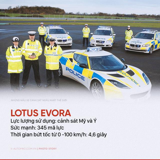 Những siêu xe ngành ngầu nhất của cảnh sát thế giới - Ảnh 9.