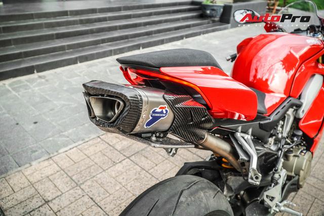 Chi tiết Ducati Panigale V4S được lên đời ống xả gần 200 triệu tại Sài Gòn - Ảnh 11.