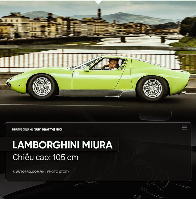Điểm danh xe siêu lùn: Thấp nhất chỉ hai gang tay - Ảnh 7.
