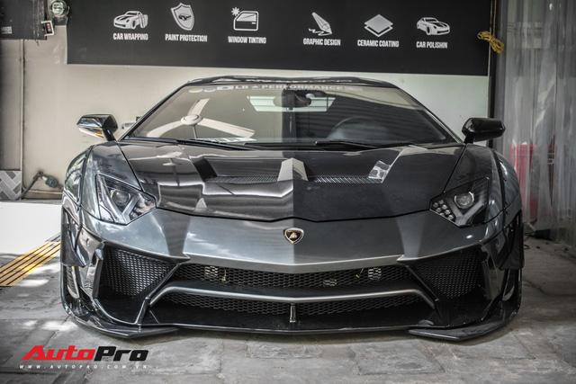 Lamborghini Aventador lên đời với bộ bodykit phiên bản giới hạn giá 3 tỷ từ Liberty Walk - Ảnh 1.