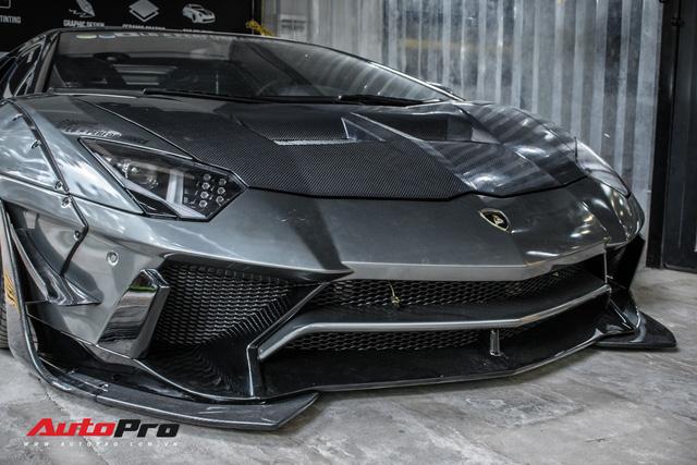 Lamborghini Aventador lên đời với bộ bodykit phiên bản giới hạn giá 3 tỷ từ Liberty Walk - Ảnh 6.
