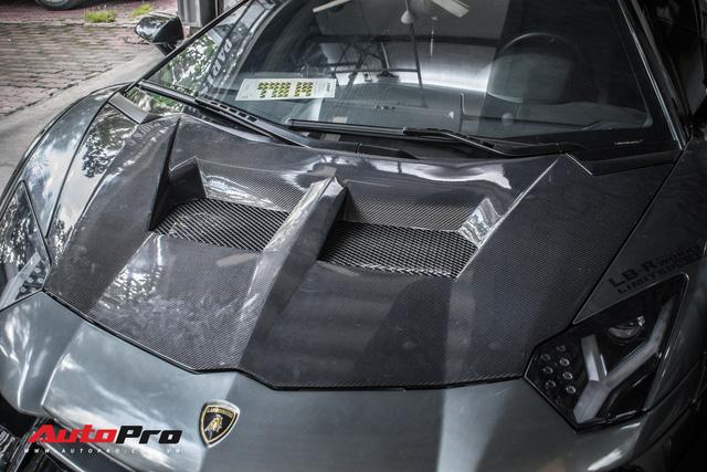 Lamborghini Aventador lên đời với bộ bodykit phiên bản giới hạn giá 3 tỷ từ Liberty Walk - Ảnh 8.