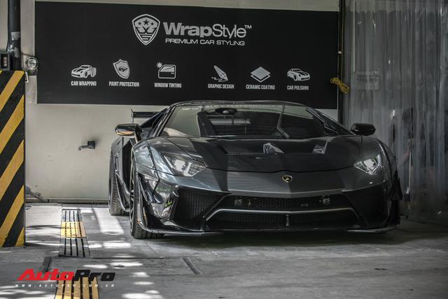 Lamborghini Aventador độc nhất Việt Nam đổi màu 7 sắc cầu vồng - Ảnh 6.