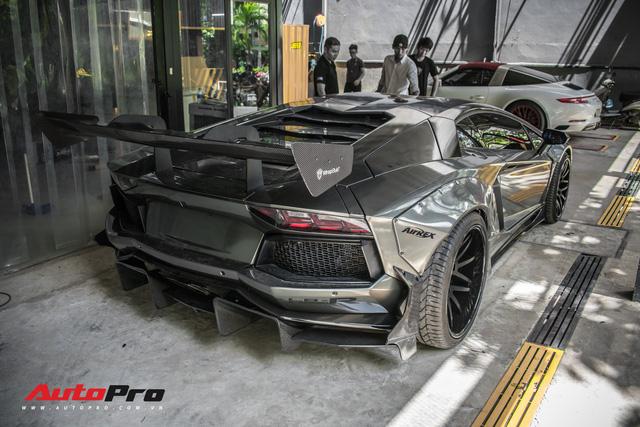 Lamborghini Aventador lên đời với bộ bodykit phiên bản giới hạn giá 3 tỷ từ Liberty Walk - Ảnh 2.