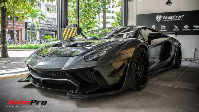Lamborghini Aventador lên đời với bộ bodykit phiên bản giới hạn giá 3 tỷ từ Liberty Walk - Ảnh 3.