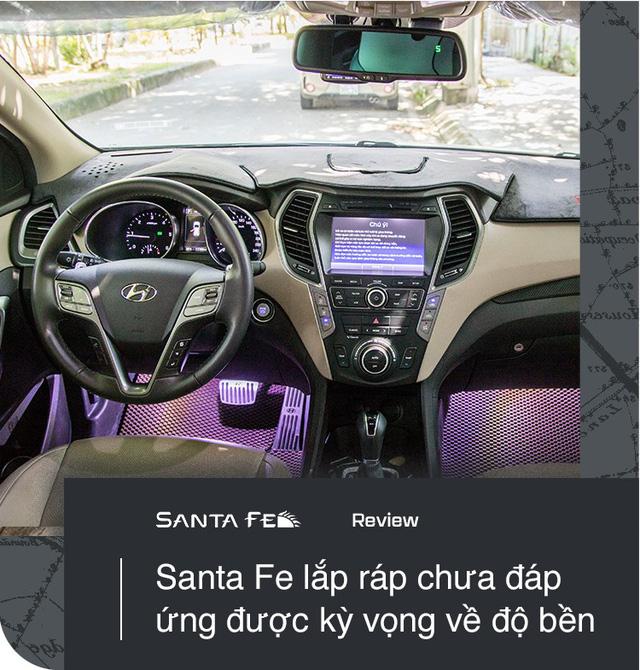 """Dùng tới 2 chiếc Hyundai Santa Fe, người dùng đánh giá: """"Nuôi xe rẻ bèo"""" - Ảnh 6."""