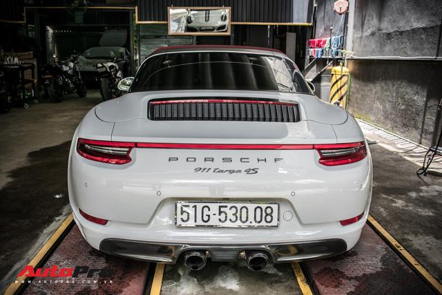Porsche 911 Targa 4S độc đáo của đại gia Sài Gòn sở hữu cả Ferrari 488 GTB và Rolls-Royce Ghost - Ảnh 7.
