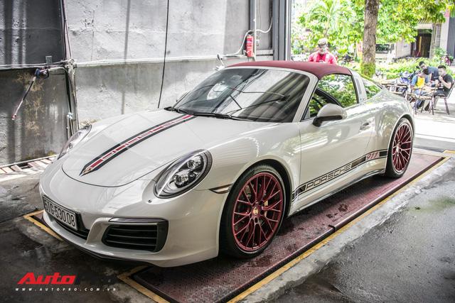 Porsche 911 Targa 4S độc đáo của đại gia Sài Gòn sở hữu cả Ferrari 488 GTB và Rolls-Royce Ghost - Ảnh 10.