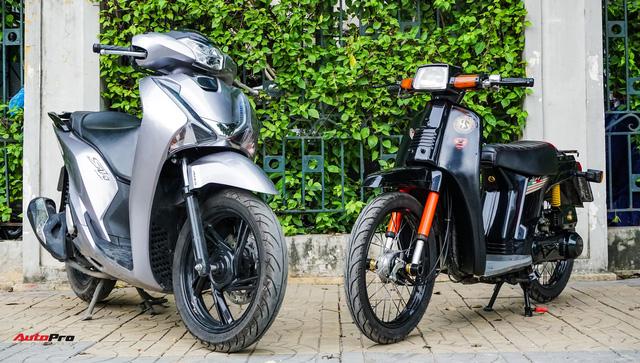 Thợ Việt hồi sinh Honda SH đời đầu 1984 từ đống phế liệu thành hàng hiếm trên phố - Ảnh 3.