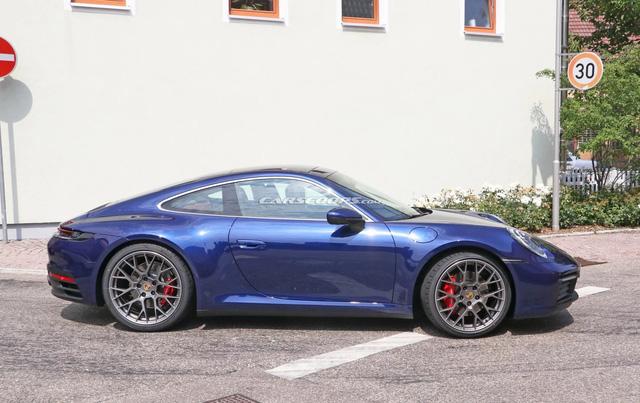 Porsche 911 mới chưa ra mắt nhưng đã lộ diện hoàn toàn trên phố - Ảnh 3.