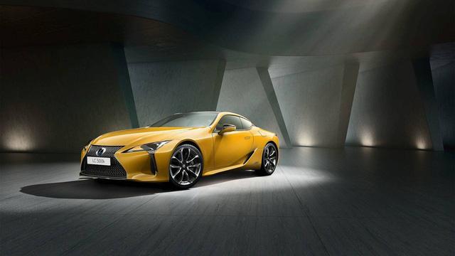Xe thể thao Lexus LC đi tắm nắng với Yellow Edition - Ảnh 1.