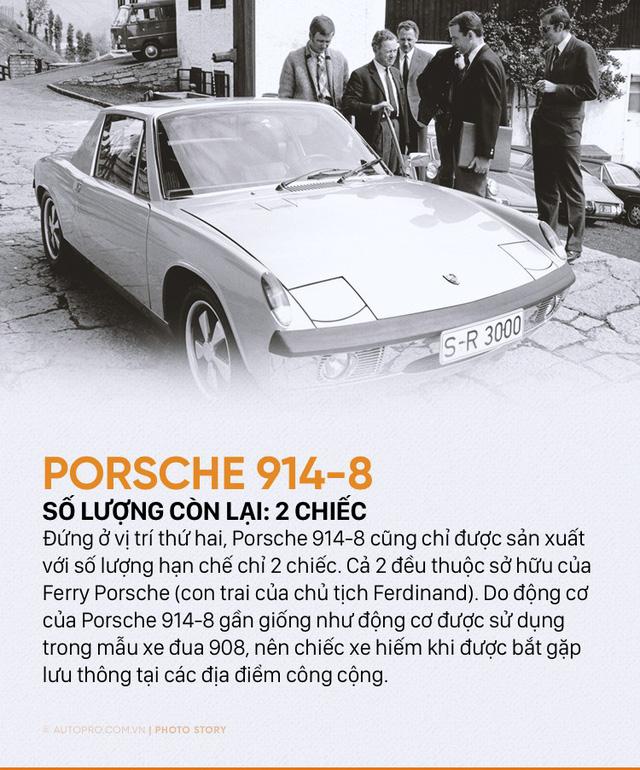 Giới siêu giàu cũng chưa chắc mua được 10 mẫu Porsche sau đây - Ảnh 9.