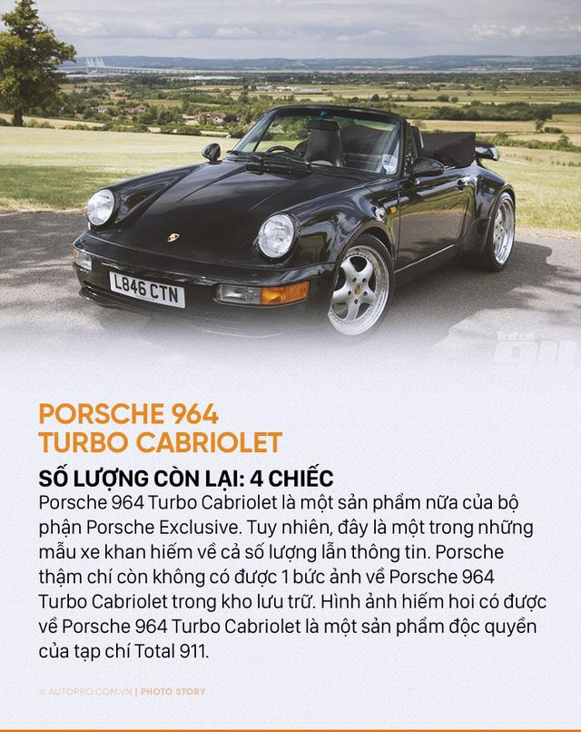 Giới siêu giàu cũng chưa chắc mua được 10 mẫu Porsche sau đây - Ảnh 7.