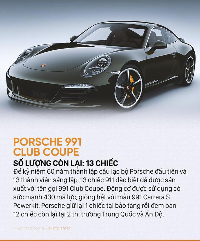 Giới siêu giàu cũng chưa chắc mua được 10 mẫu Porsche sau đây - Ảnh 6.