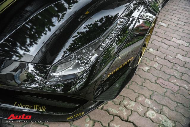 Thợ Nhật sang tận Việt Nam độ Ferrari 488 GTB Liberty Walk đầu tiên cho đại gia Hà Nội - Ảnh 5.