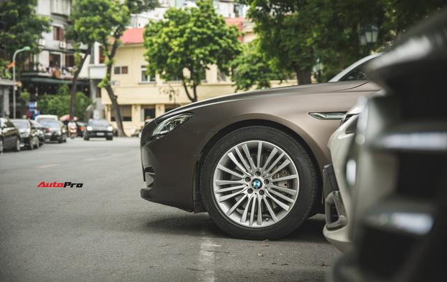 BMW 640i Gran Coupe màu lạ, biển phát lộc dạo phố Hà Thành - Ảnh 9.