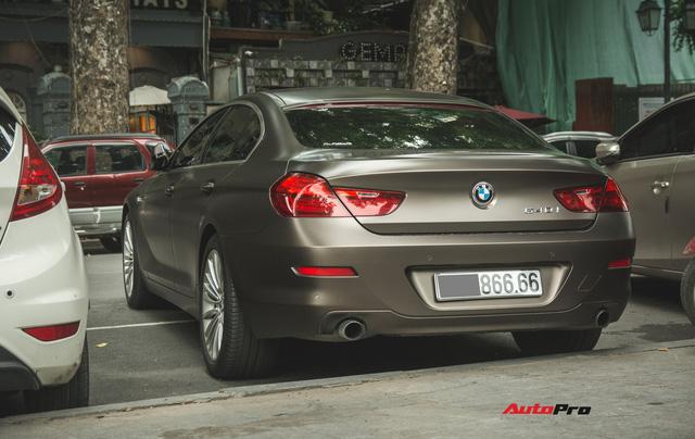 BMW 640i Gran Coupe màu lạ, biển phát lộc dạo phố Hà Thành - Ảnh 5.