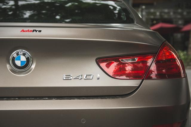 BMW 640i Gran Coupe màu lạ, biển phát lộc dạo phố Hà Thành - Ảnh 11.