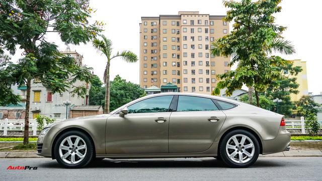 Audi A7 Sportback 7 năm tuổi bán lại 1,5 tỷ đồng tại Hà Nội - Ảnh 3.