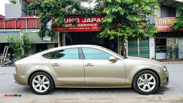 Audi A7 Sportback 7 năm tuổi bán lại 1,5 tỷ đồng tại Hà Nội - Ảnh 5.