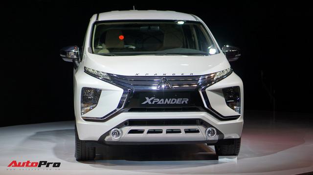 Ra mắt Mitsubishi Xpander - Crossover MPV 7 chỗ hoàn toàn mới có giá dự kiến từ 550 triệu đồng