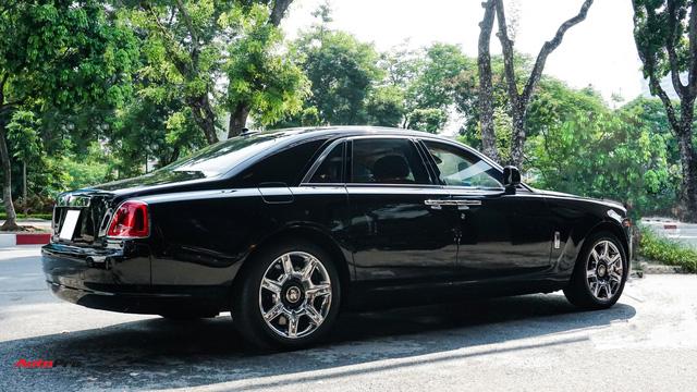 Chi tiết Rolls-Royce Ghost bán lại với giá gần 11 tỷ đồng tại Hà Nội - Ảnh 5.