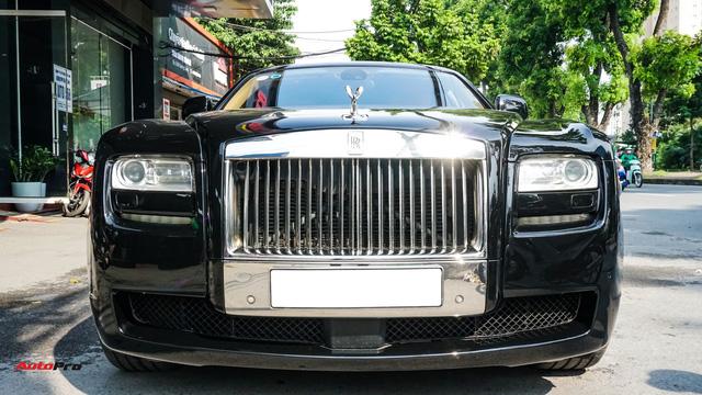 Chi tiết Rolls-Royce Ghost bán lại với giá gần 11 tỷ đồng tại Hà Nội - Ảnh 1.