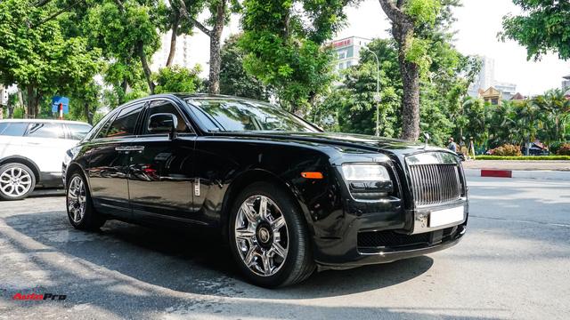 Chi tiết Rolls-Royce Ghost bán lại với giá gần 11 tỷ đồng tại Hà Nội - Ảnh 3.