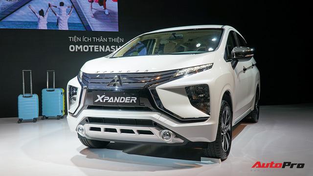 Chi tiết Mitsubishi Xpander - Xe 7 chỗ kiểu mới cho gia đình tại Việt Nam
