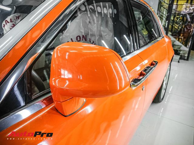 Rolls-Royce Ghost màu cam đầu tiên Việt Nam của đại gia Sài Gòn - Ảnh 6.
