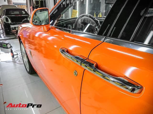 Rolls-Royce Ghost màu cam đầu tiên Việt Nam của đại gia Sài Gòn - Ảnh 7.