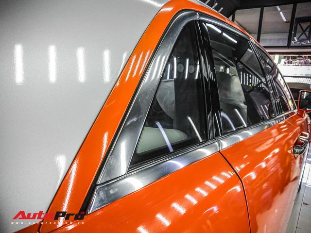 Rolls-Royce Ghost màu cam đầu tiên Việt Nam của đại gia Sài Gòn - Ảnh 10.