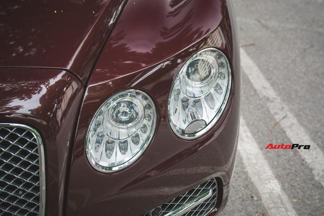Bentley Continental Flying Spur màu lạ - Xe siêu sang cho đại gia Việt thích hàng độc - Ảnh 6.