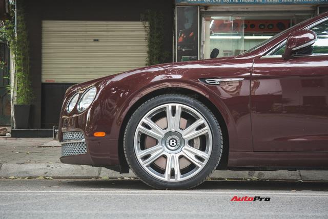 Bentley Continental Flying Spur màu lạ - Xe siêu sang cho đại gia Việt thích hàng độc - Ảnh 10.