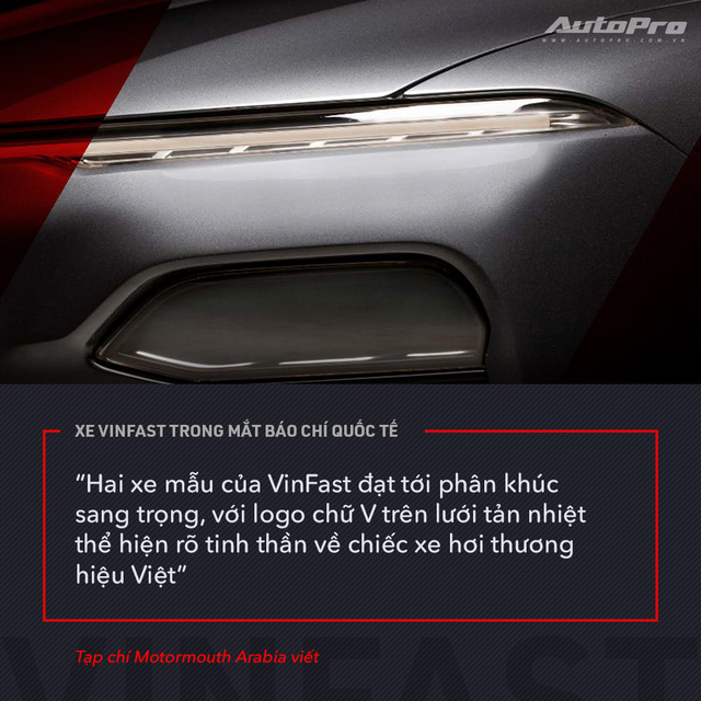 Từ Tây sang Đông, xe VinFast được giới truyền thông quốc tế mổ xẻ như thế nào? - Ảnh 17.