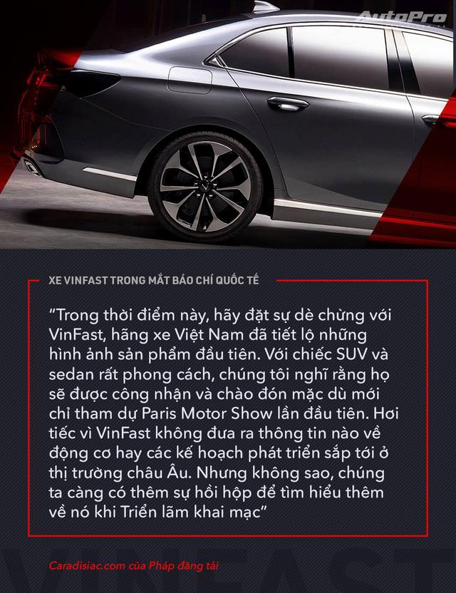 Từ Tây sang Đông, xe VinFast được giới truyền thông quốc tế mổ xẻ như thế nào? - Ảnh 4.